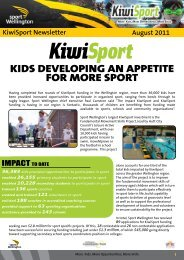 Issue 9 - Sport Wellington