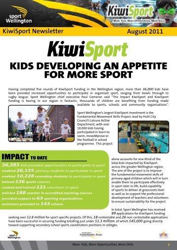 Issue 9 - Sport Wellington