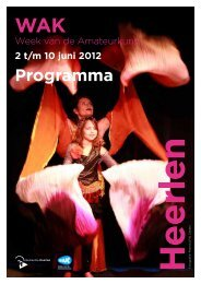 Programma 2 t/m 10 juni 2012 - CultuurPark