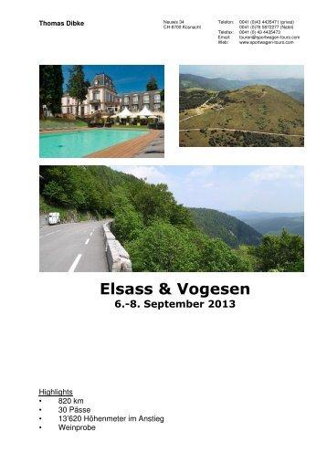 Elsass & Vogesen