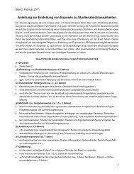 Anleitung zur Erstellung von Exposés zu Studienabschlussarbeiten