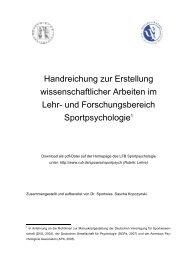 Handreichung zur Erstellung wissenschaftlicher Arbeiten im Lehr ...