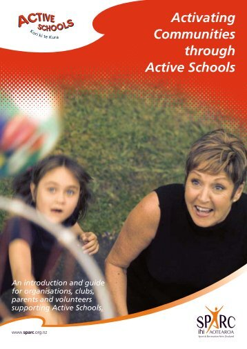 Activating Communities through Active Schools - Sport Wellington
