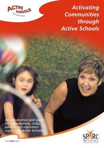 Activating Communities through Active Schools - Sport Wellington