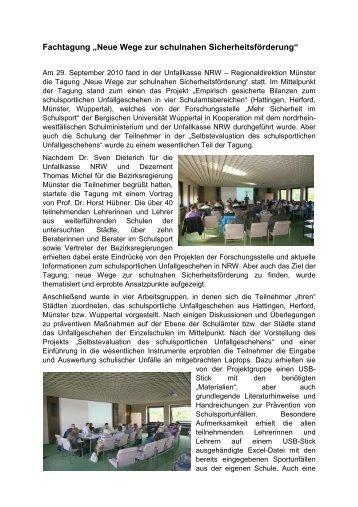 pdf-Dokument zur Tagung - Fachbereich Sportwissenschaft der ...