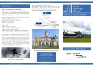 Flyer - Institut für Sportwissenschaft - Leibniz Universität Hannover