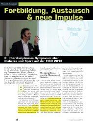 Fortbildung, Austausch & neue Impulse - Fachbereich ...