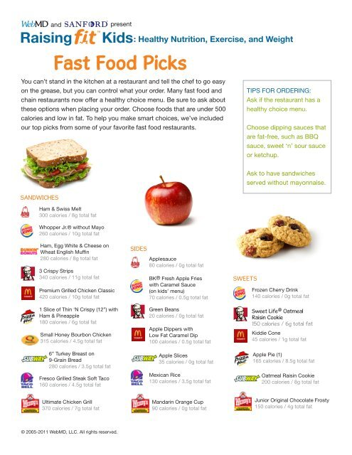 Healthy Nutrition, Exercise, and Weight