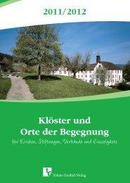 C u Klöster und Orte der Begegnung - Christliche Hotels und ...