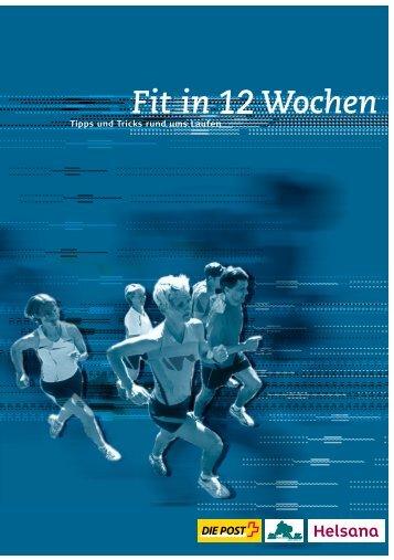 PDF: Fit in 12 Wochen - Die Schweizerische Post