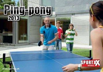 Ping-pong Ping-pong - SportXX