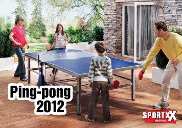Ping-pong 2012 Ping-pong 2012 - SportXX