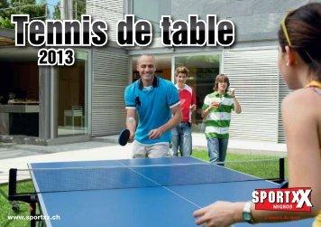 Tennis de table Tennis de table - SportXX
