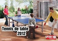 Tennis de table 2012 Tennis de table 2012 - SportXX