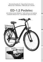 ED-1.2 Pedelec - SportXX