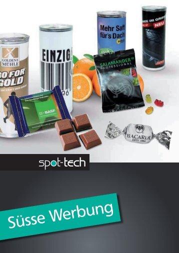 Süsse Werbung - SPOT-TECH