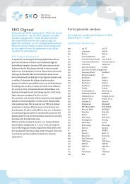 SKO Digitaal voor digitale zenders - Spot