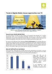Trends in Digitale Media; nieuwe opportunities voor TV - Spot