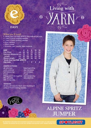 Alpine Spritz Jumper - Spotlight