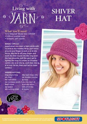 Shiver Hat - Spotlight