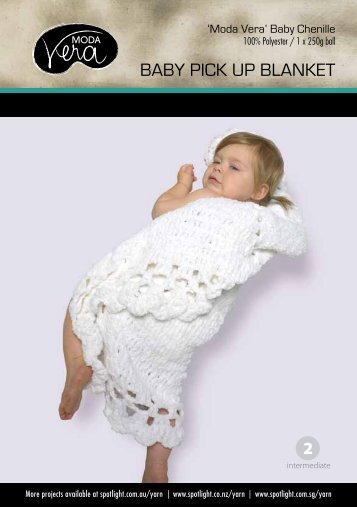 BABY PICK UP BLANKET - Spotlight