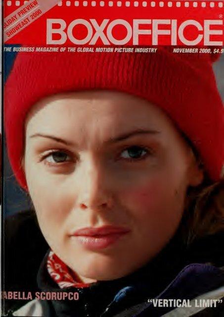Boxoffice November 2000