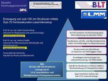 Informationen (deutsch) - SPP 1327