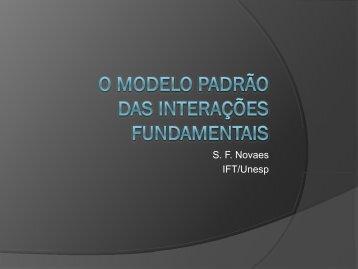 O Modelo Padrão das Interações Fundamentais ... - Sprace
