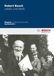 Robert Bosch Leben und Werk