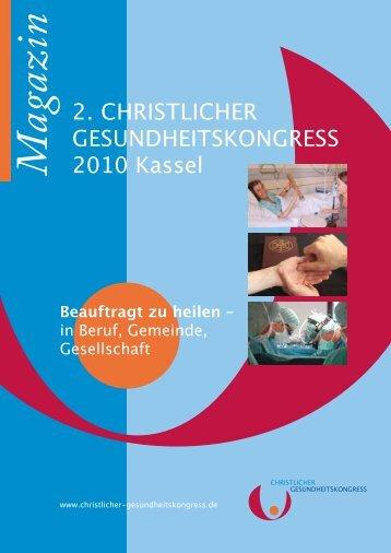 M agazin - Christlicher Gesundheitskongress