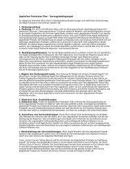 AppleCare Protection Plan - Vertragsbedingungen Ihr ... - Apple Store