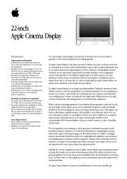 22-inch Apple Cinema Display - Apple Store