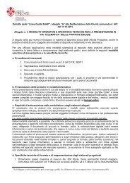 SUAPEstratto allegato - Comune di Firenze