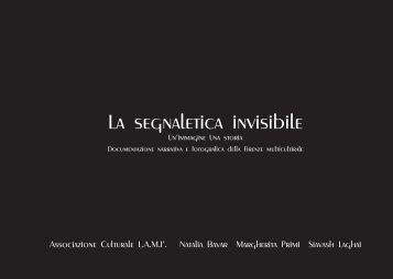 La segnaletica invisibile - Comune di Firenze