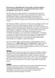 Dosierungen zur Behandlung der Pansenacidose und ... - Eucarvet