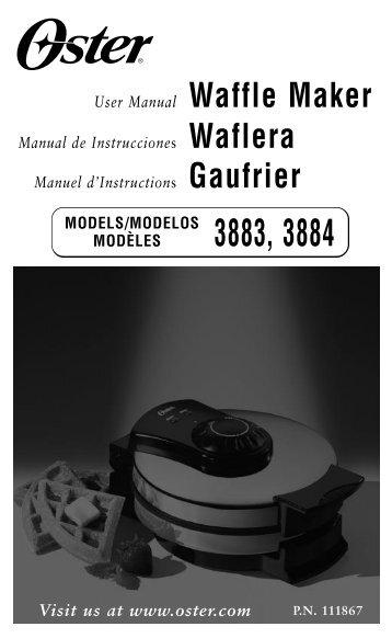 3883 3884 Waffle Maker Text ! - Amazon S3