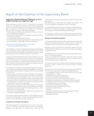 Report of the Chairman of the Supervisory Board - Klemurs