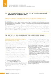 7.1 supervisory board's report to the combined general ... - Klemurs