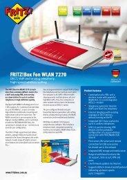 Fritz!box Fon WLAN 7270