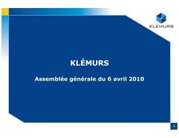 Télécharger le document - Klemurs