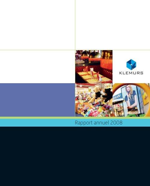 Klemurs Rapport annuel 2008
