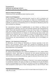 Andreas Kronberger - GlaxoSmithKline Pharma GmbH