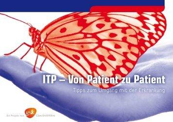 ITP – Von Patient zu Patient - GlaxoSmithKline Pharma GmbH