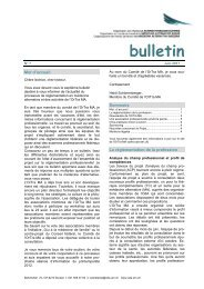 bulletin - SBO-TCM