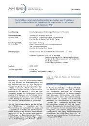 Entwicklung molekularbiologischer Methoden zur ... - Food-Chemistry