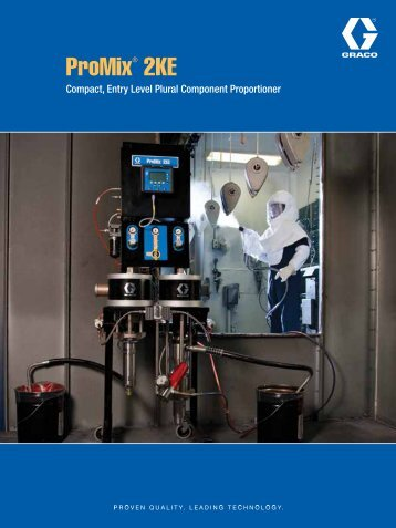 ProMix® 2KE - Graco Inc.