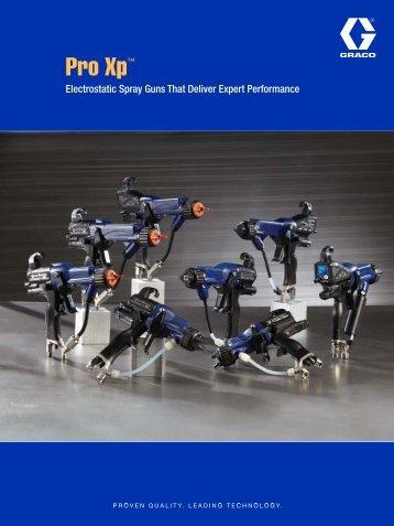 Pro Xp Electrostatic Gun Brochure - Spray Tech Systems Inc.