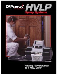 Wagner HVLP Brochure - Spray Tech Systems Inc.