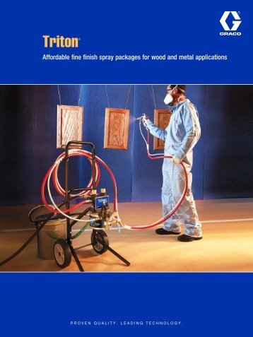 Triton Brochure - Graco Inc.