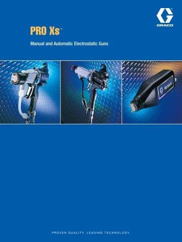 PRO Xs™ - Graco Inc.